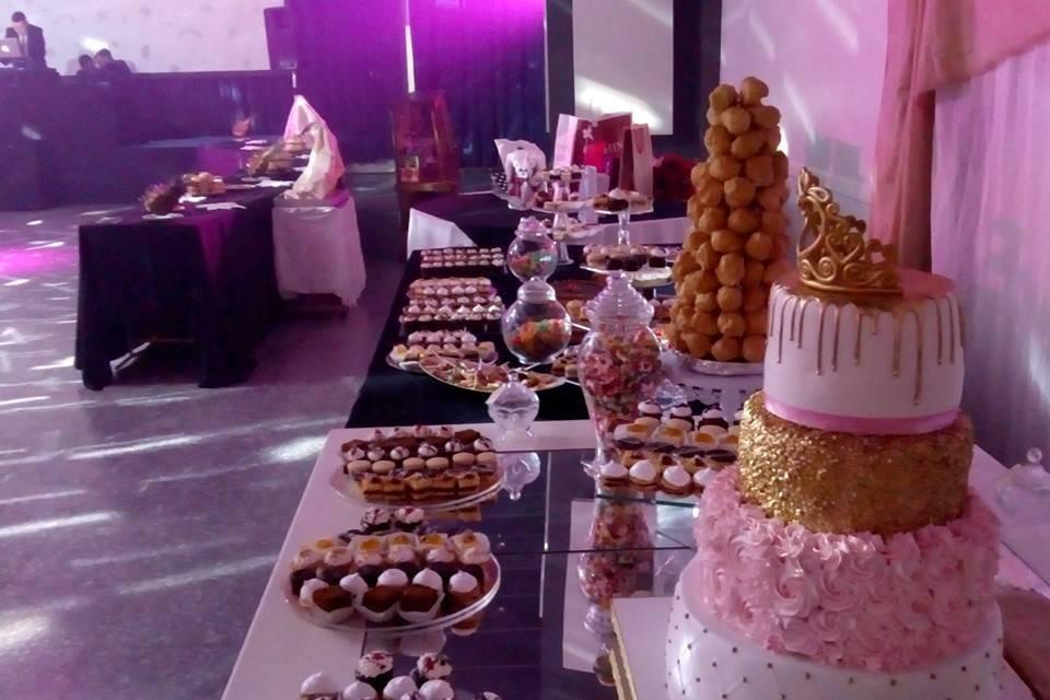 Buffet dulces