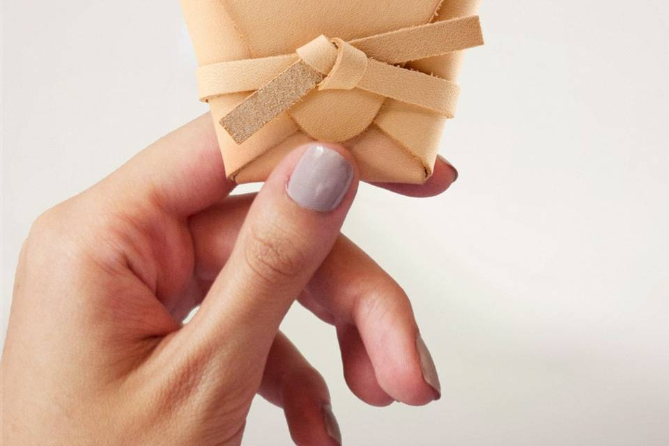 Packaging cuero vegetal