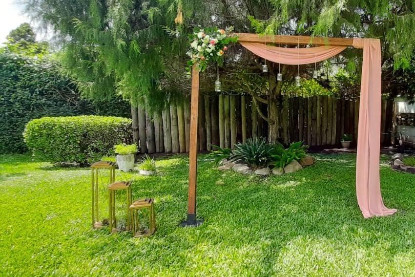 Ceremonia elegante aire libre
