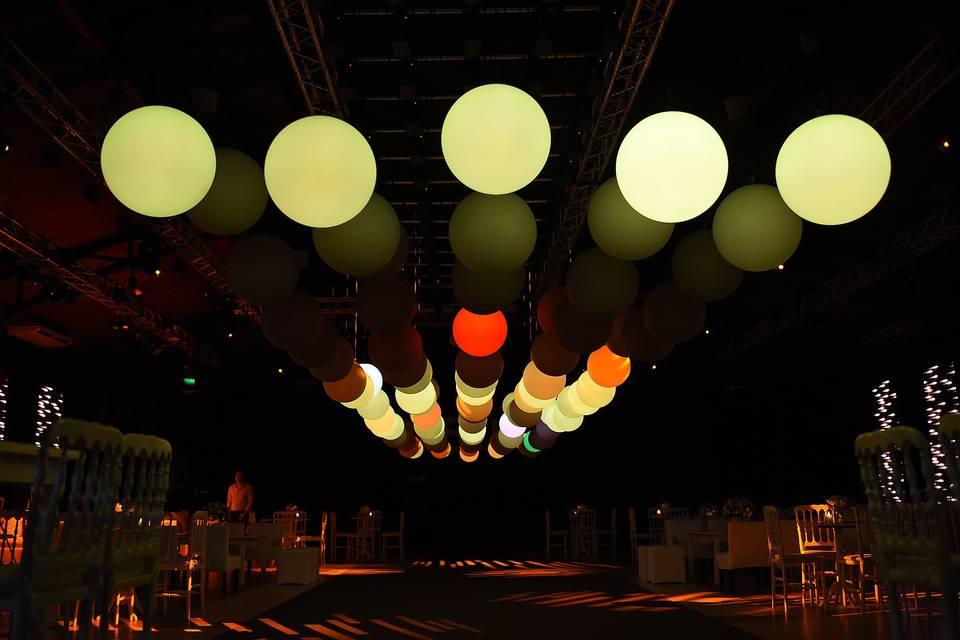 Juegos de luces Kinetic