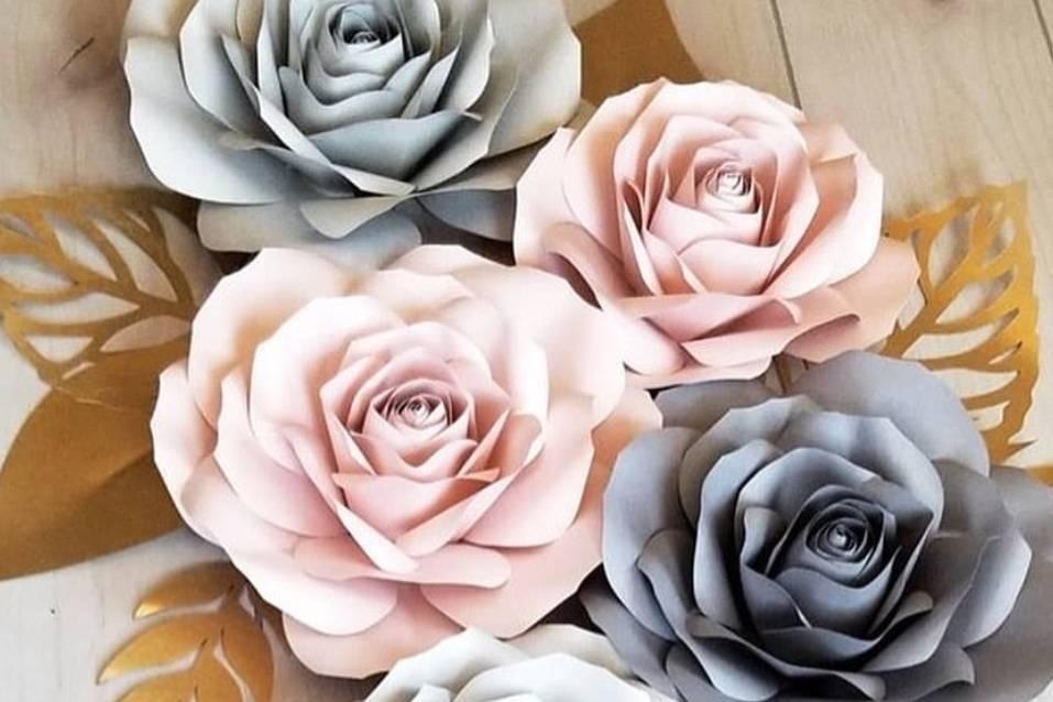 Rosas para fondos