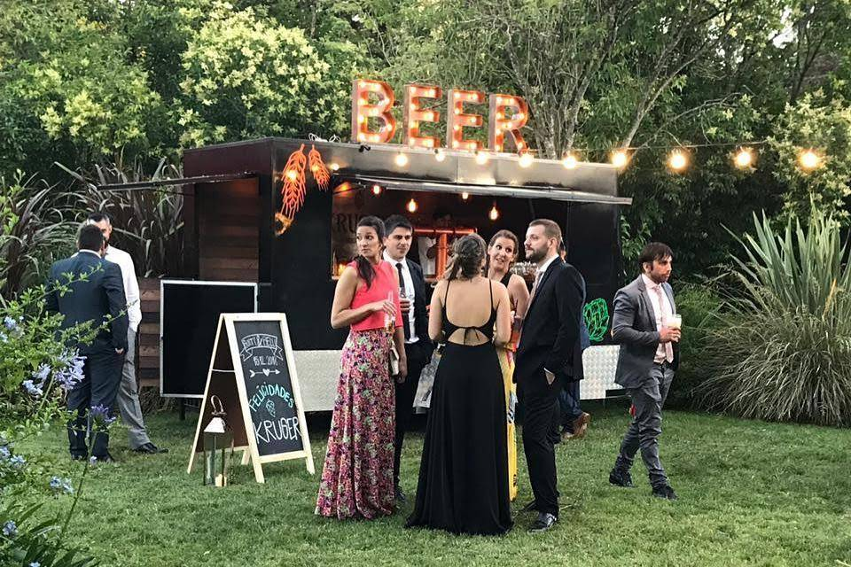 Kruger Beer Truck