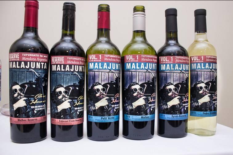 Malajunta vinos