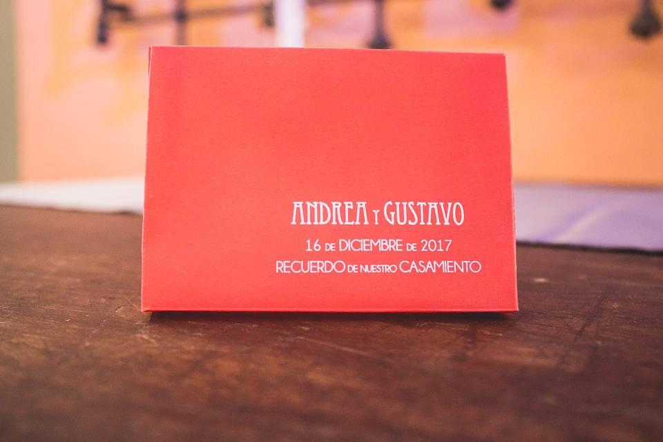 Souvenir Andrea & Gustavo