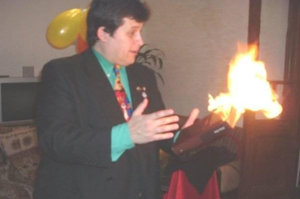 Magia con fuego