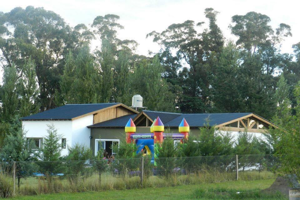 Parque e inflable