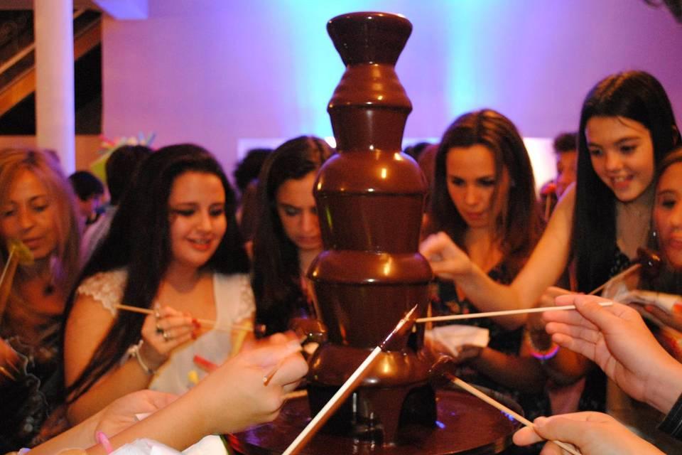 Chocolates y Cascadas