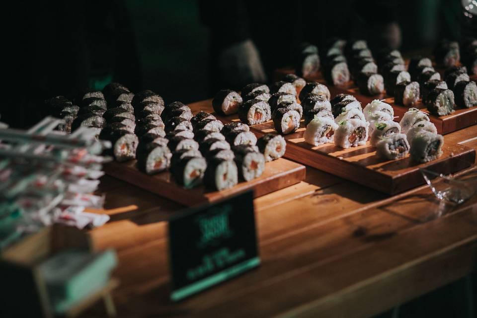 Isla de sushi
