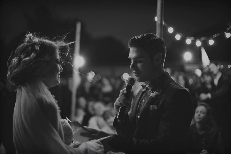 Ceremonia de Barby & Lucho