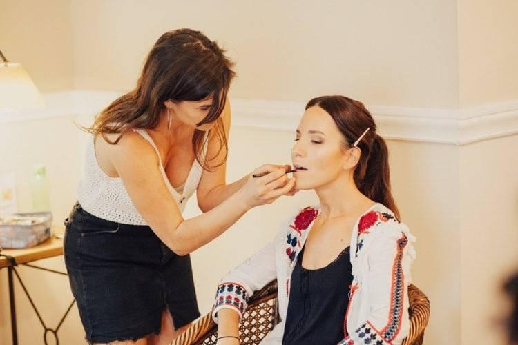Flor Argüello Makeup