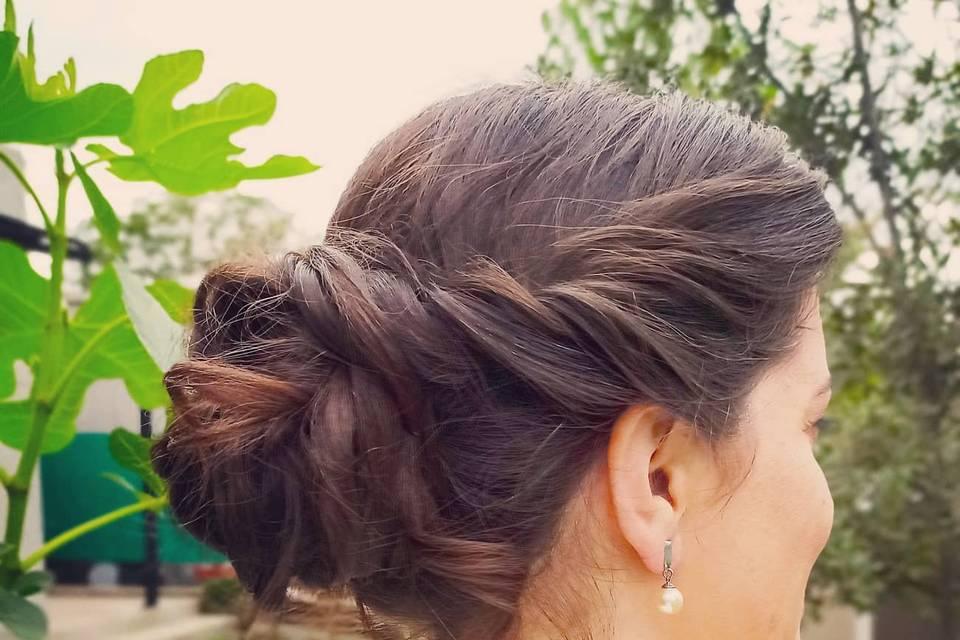 Peinado recogido descontractur