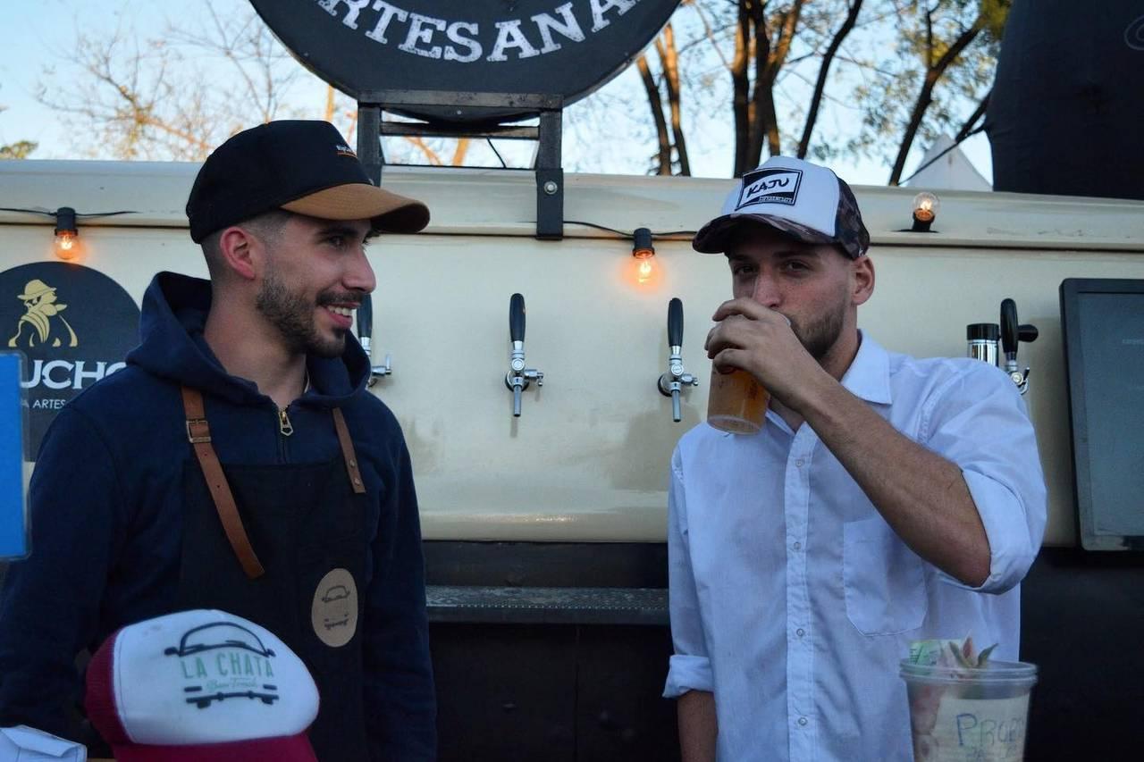 La Chata Beer Truck