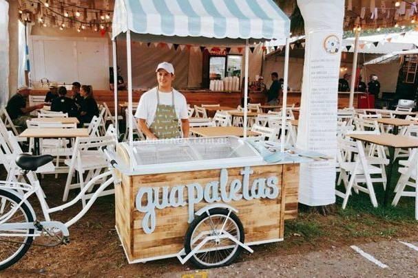 Guapaletas Palmares Open Mall - Carrito de helados