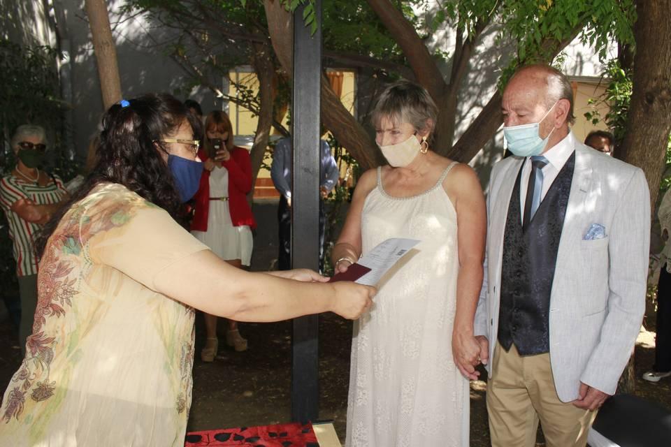 Casamiento civil Marcela & Hugo