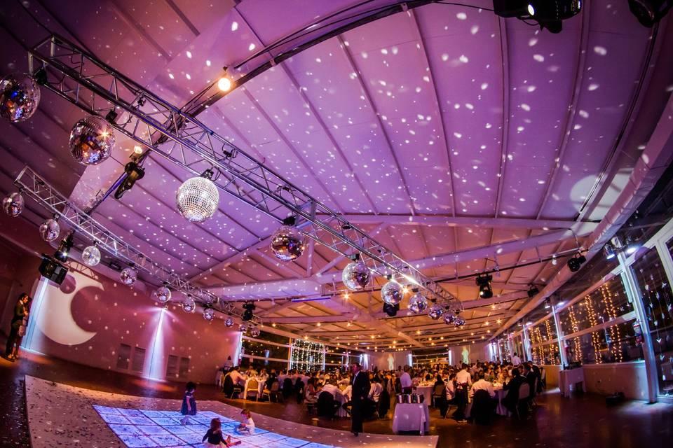 Gran salón/ iluminación