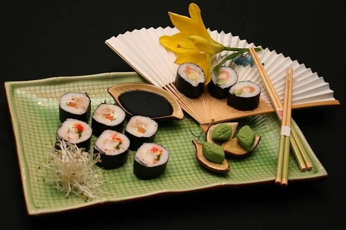 Sushi de alta calidad