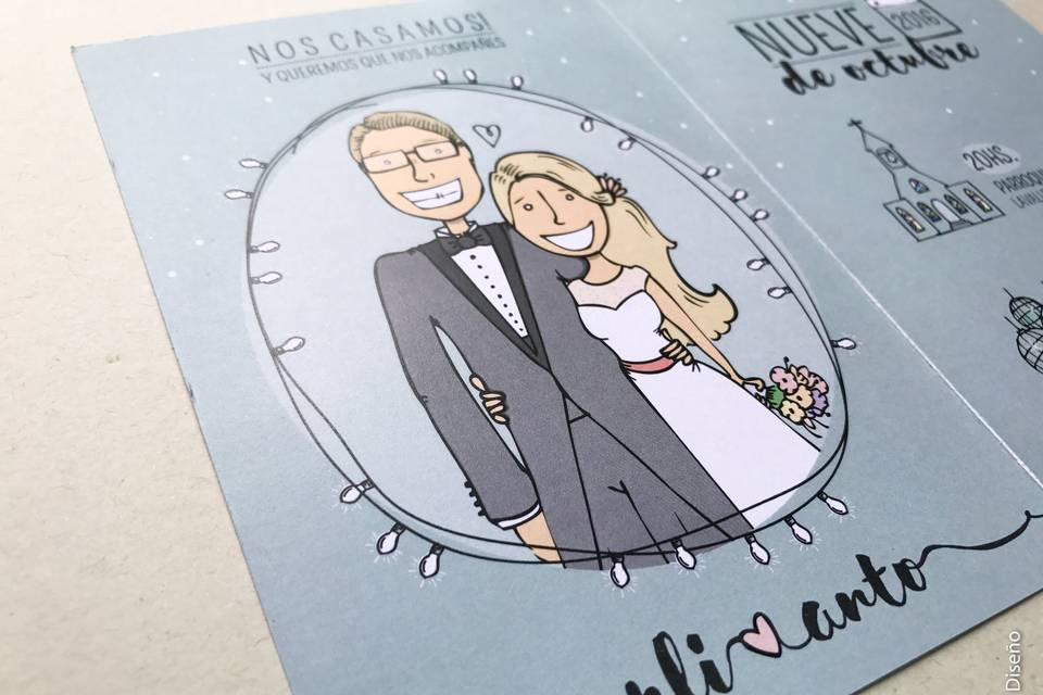 Invitaciones ilustradas