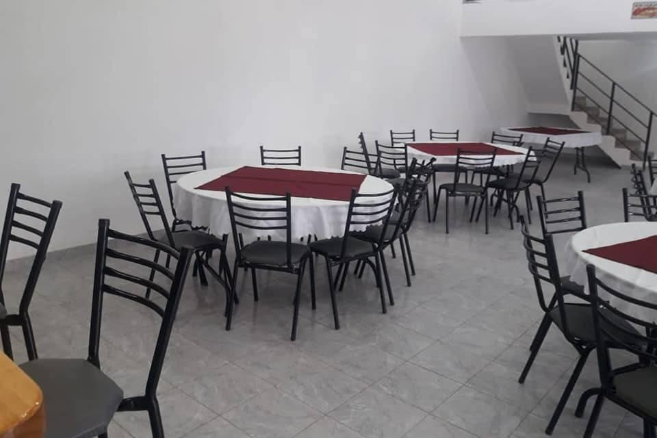 Distribución de mesas