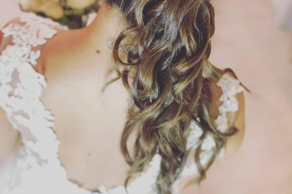 Peinado + tocado para lu