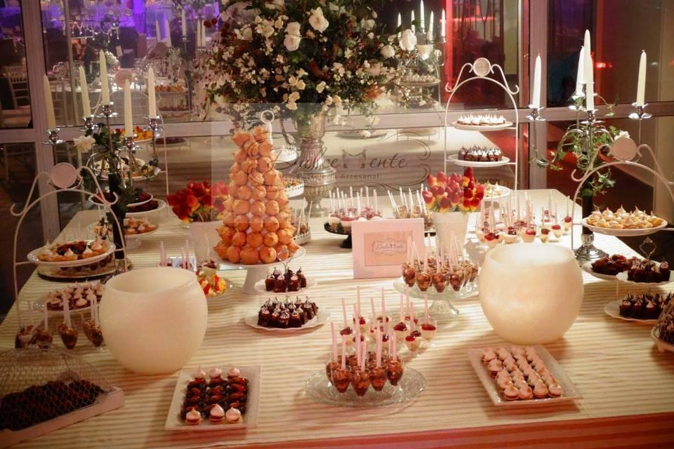 Presentación mesa dulce