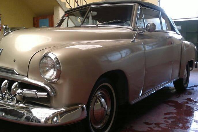 Desoto 1951 con capota