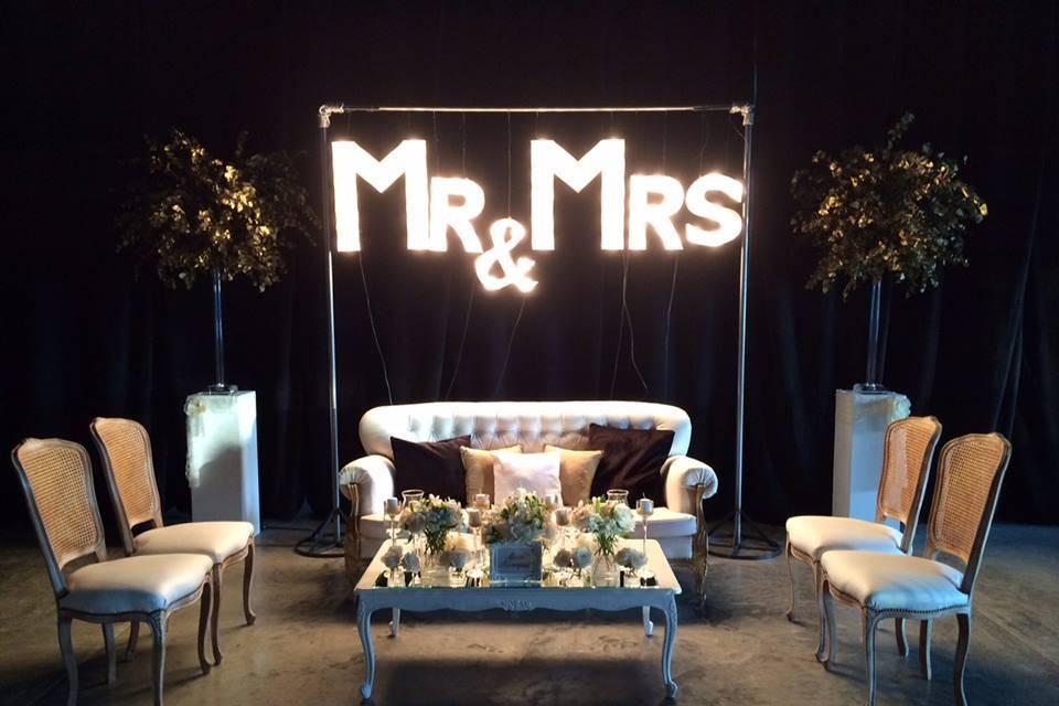 Colgante Mr & Mrs