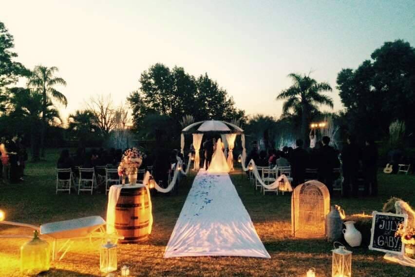 Un Altar de Ceremonias Soñado