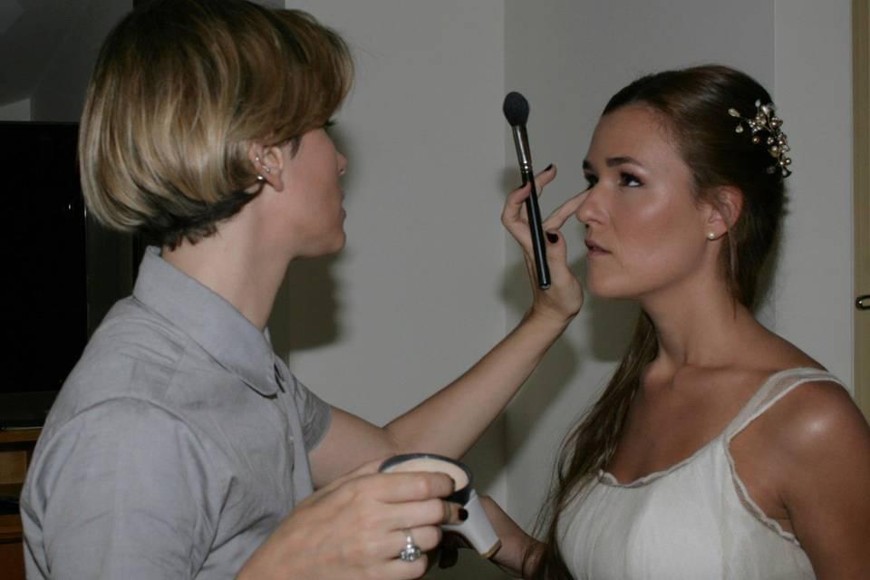 Monique Pouysségur Makeup Artist