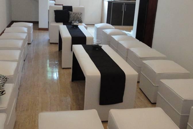 Sala negro y blanco