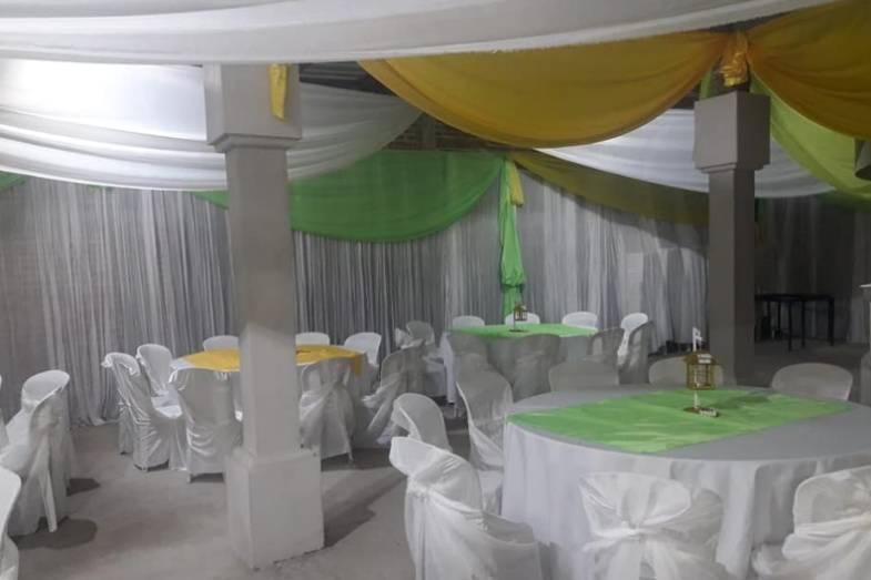 Verde y amarillo para decorar