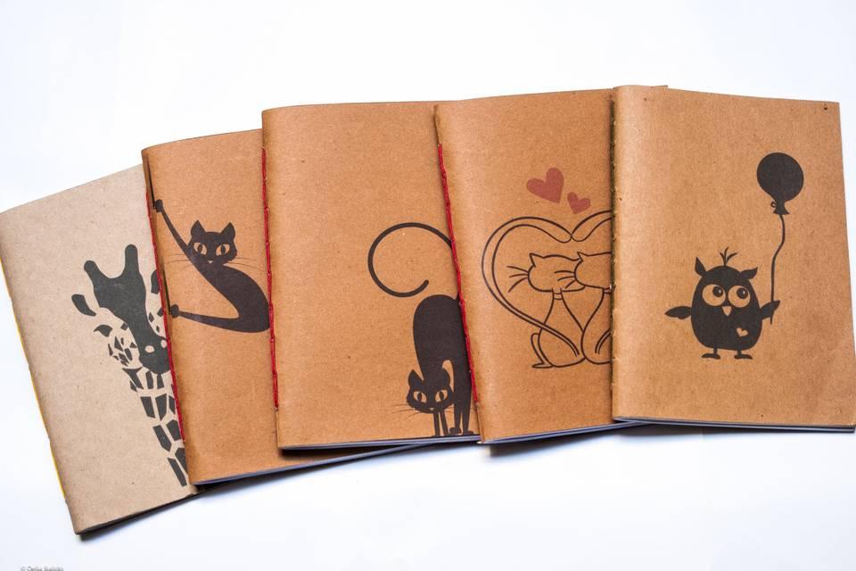 Souvenirs cadernos tapa bland