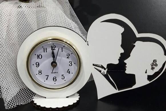 Souvenirs eventos con reloj