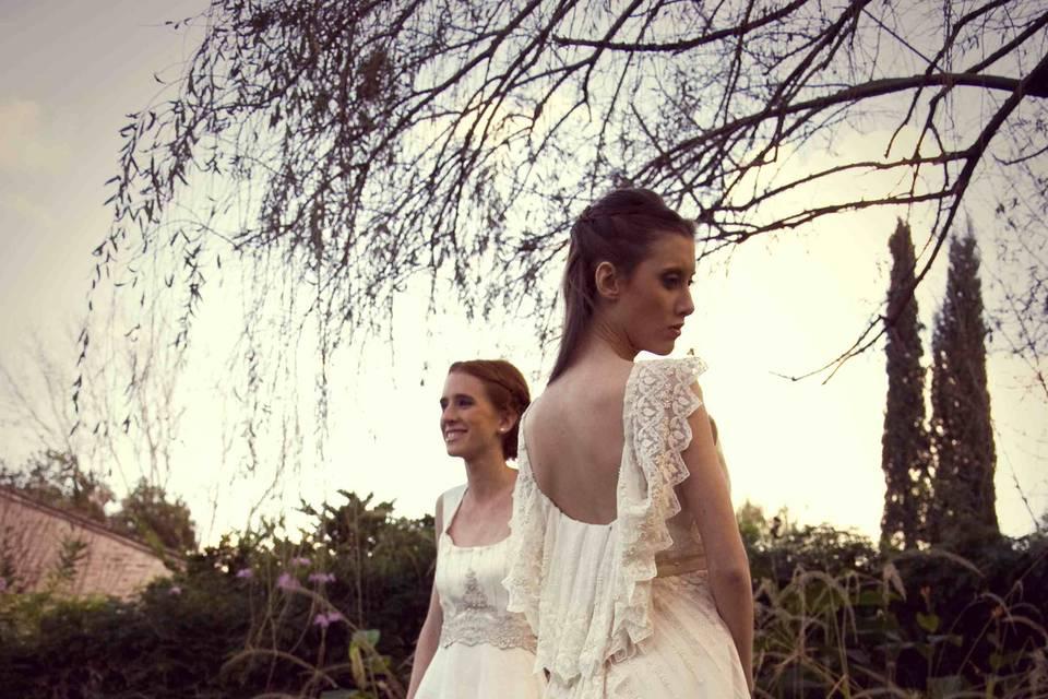 Vestidos para novias Florencia Pierro