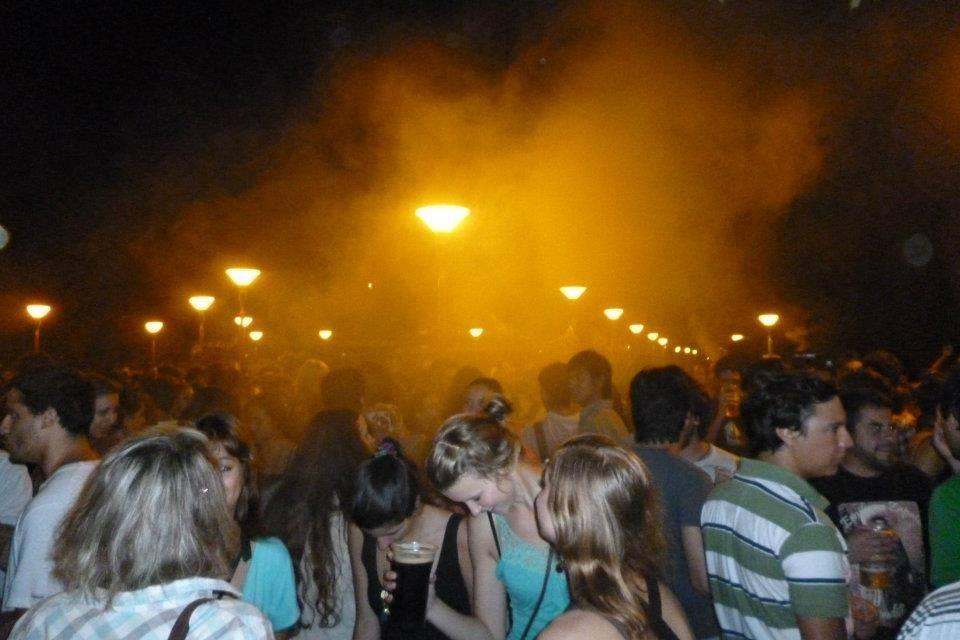 Fiesta multitudinaria