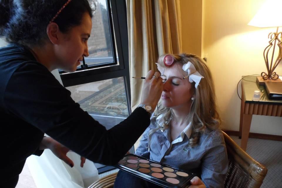 Sabrina Mountot Makeup