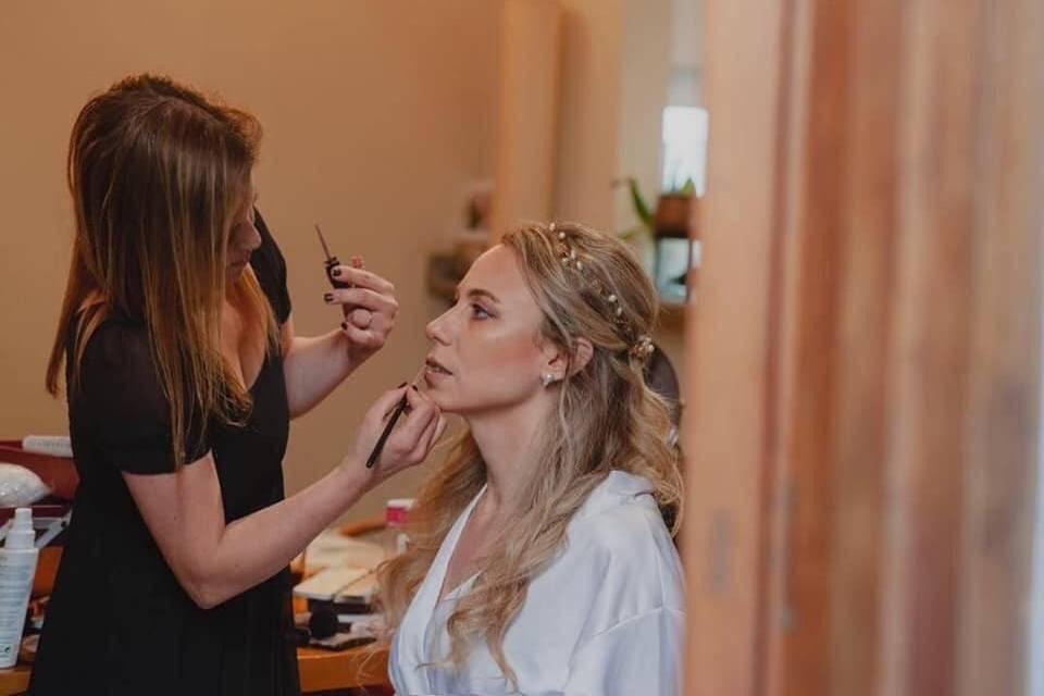 Florencia Colella Peinados & Tocados