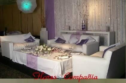 Ambientación en lila