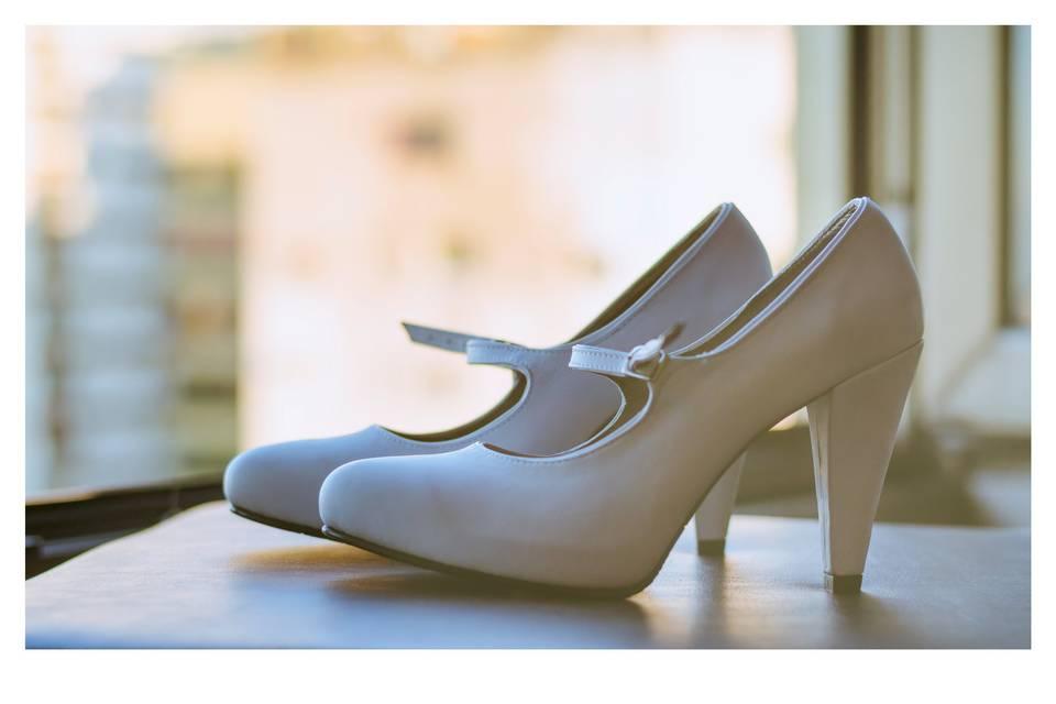 Foto detalle zapatos novia