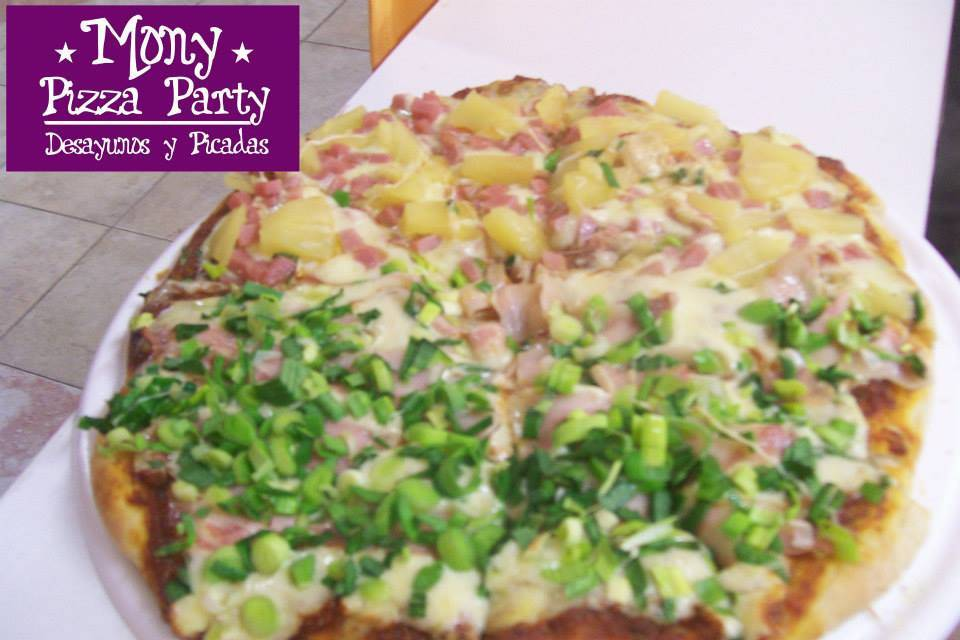 Pizza varios sabores
