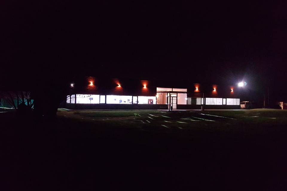 Vista exterior noche