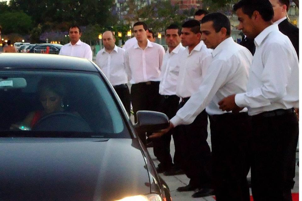 Servicio de estacionamiento