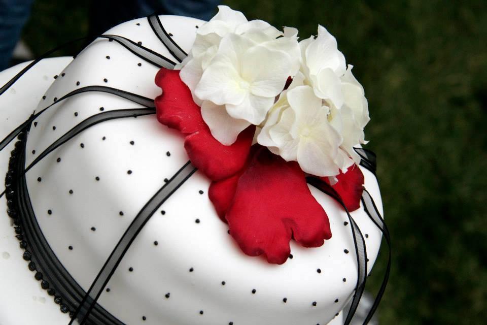 Torta blanco y negro