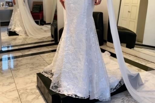Vestido sirena argentina moda