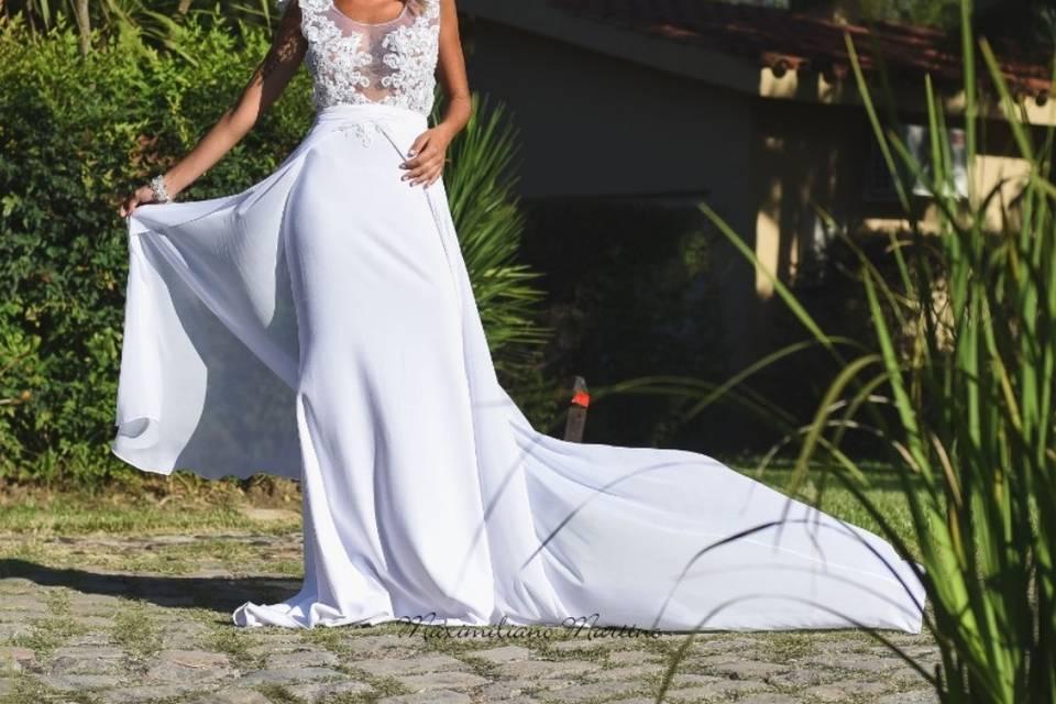 Vestido Vanesa Santafé