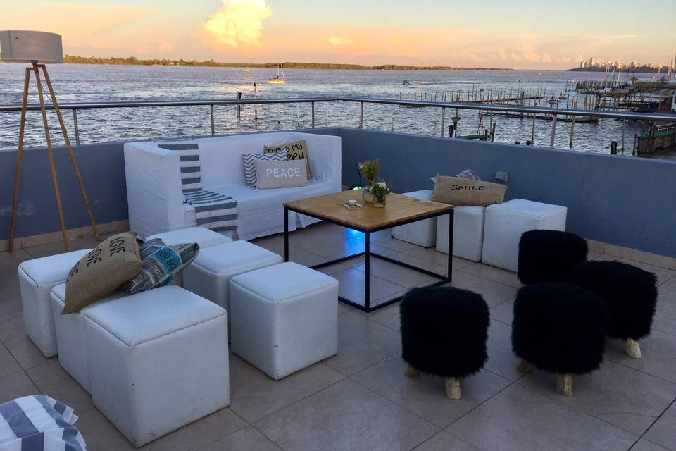 Livings terraza