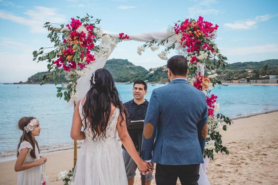 Omar Zaracho Celebrante Wedding