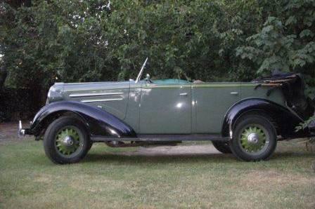 Autos antiguos - Chevrolet 1936
