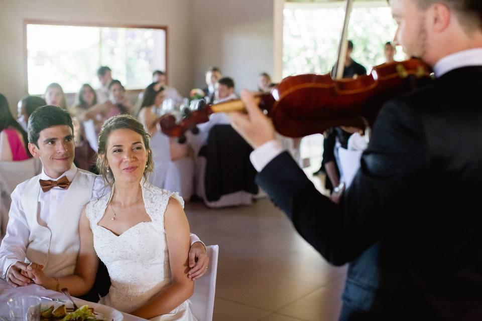 Violinista Valentín Juárez