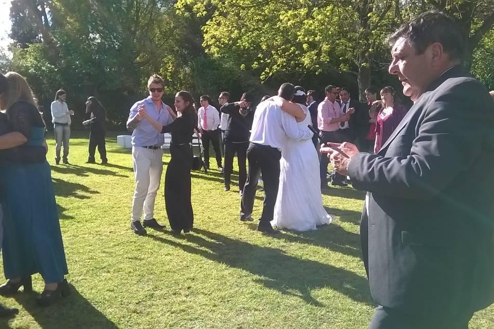 Ceremonia y sector del parque