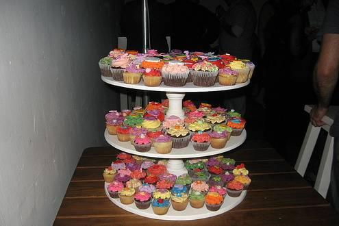 Bandejas de Cupcakes